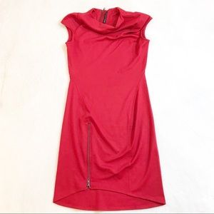 W118 Walter Baker Womens Dress Size Small Deep Red